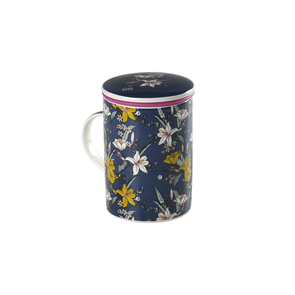 Mug Classic Japan Flower Blue. Tazas de porcelana Tea Shop®