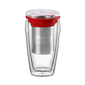 All in One Jumbo Red. Glass MugsTea Shop® - Item1