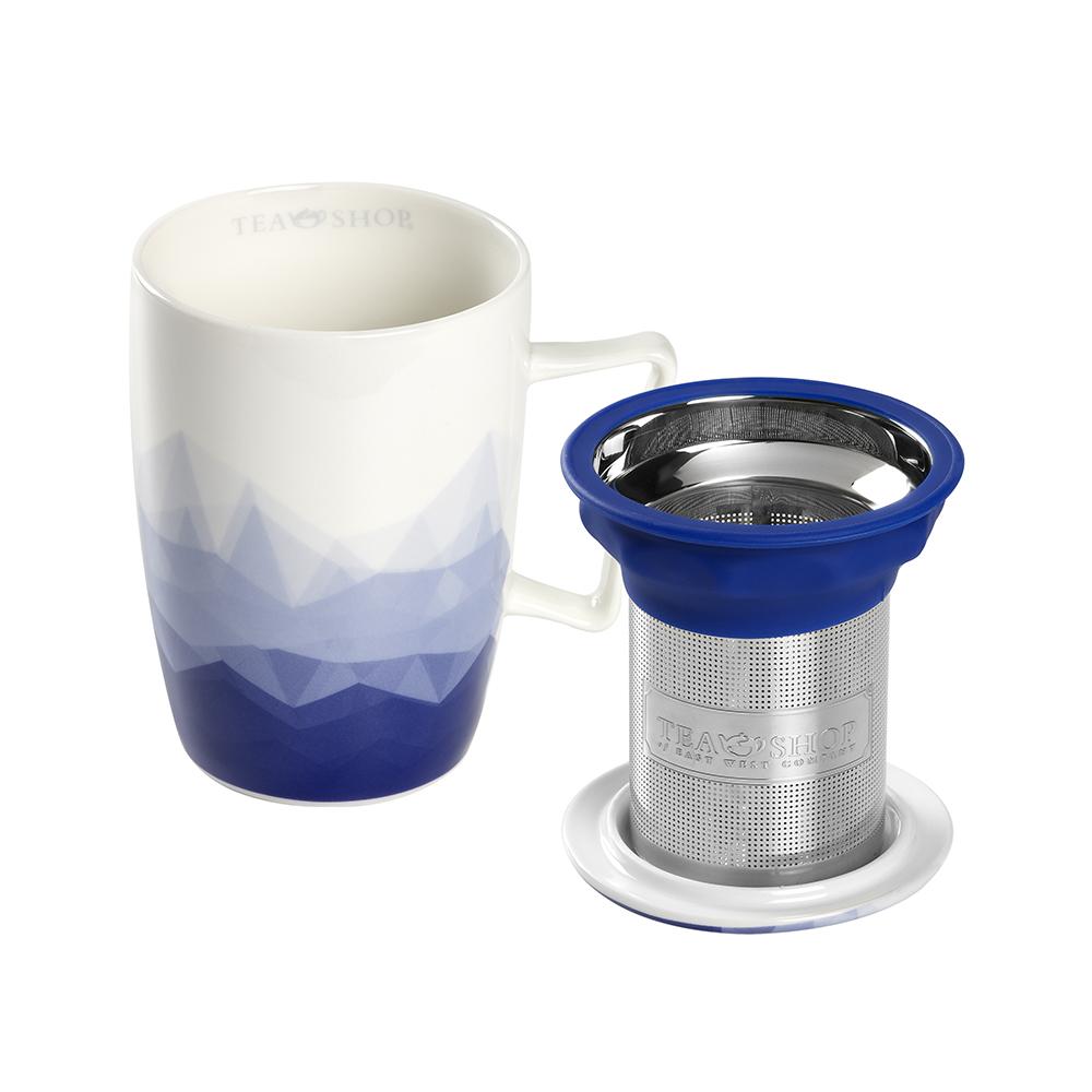 Mug Super Jumbo Mykonos.,Tazas de cristalTea Shop®
