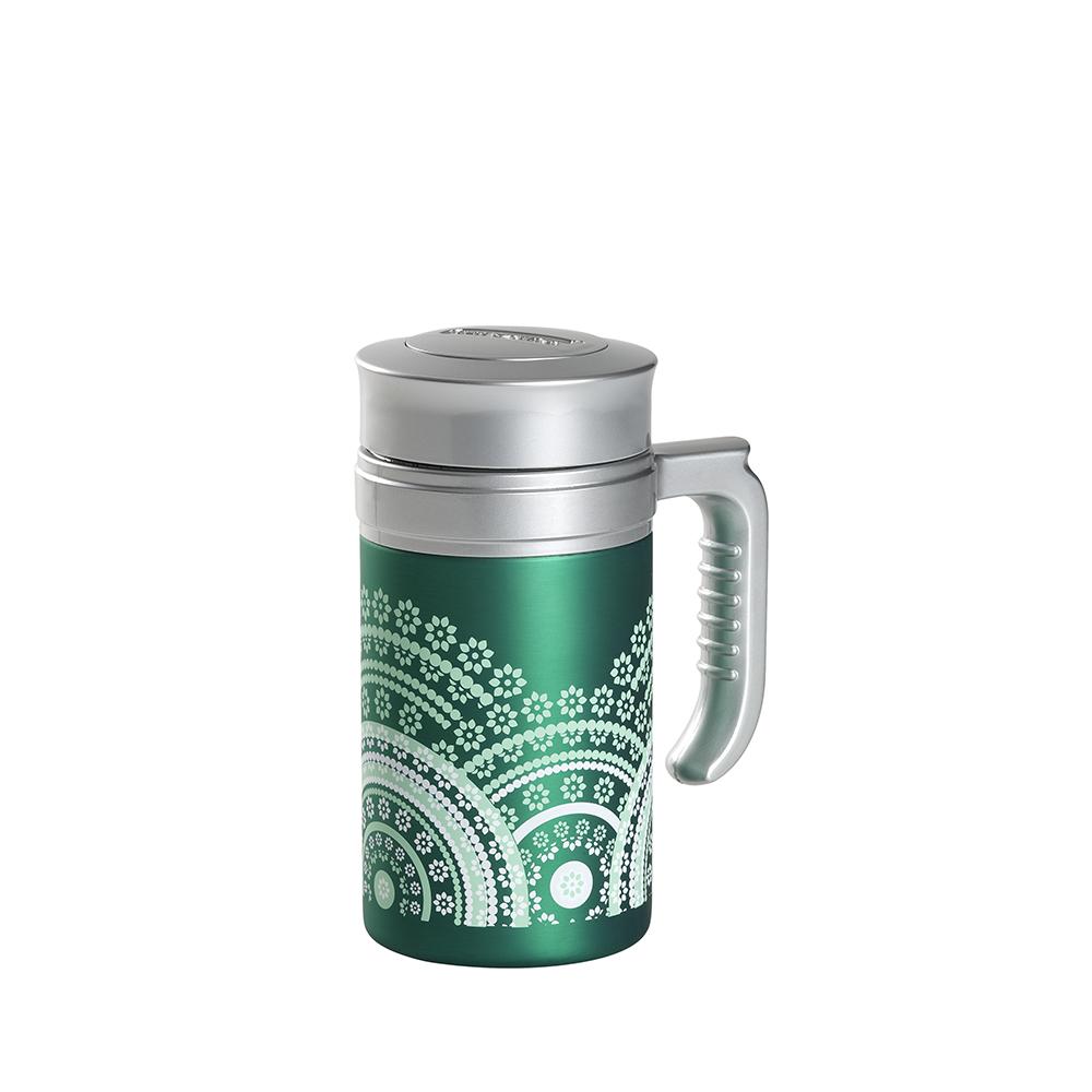 Travel Tea Mandala Green. Termo,Termo sin filtroTea Shop®