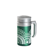 Travel Tea Mandala Green. . Tazza termica. Thermo senza filtroTea Shop®