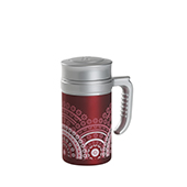 Travel Tea Mandala Magenta . . Thermos. Thermos Without FilterTea Shop®