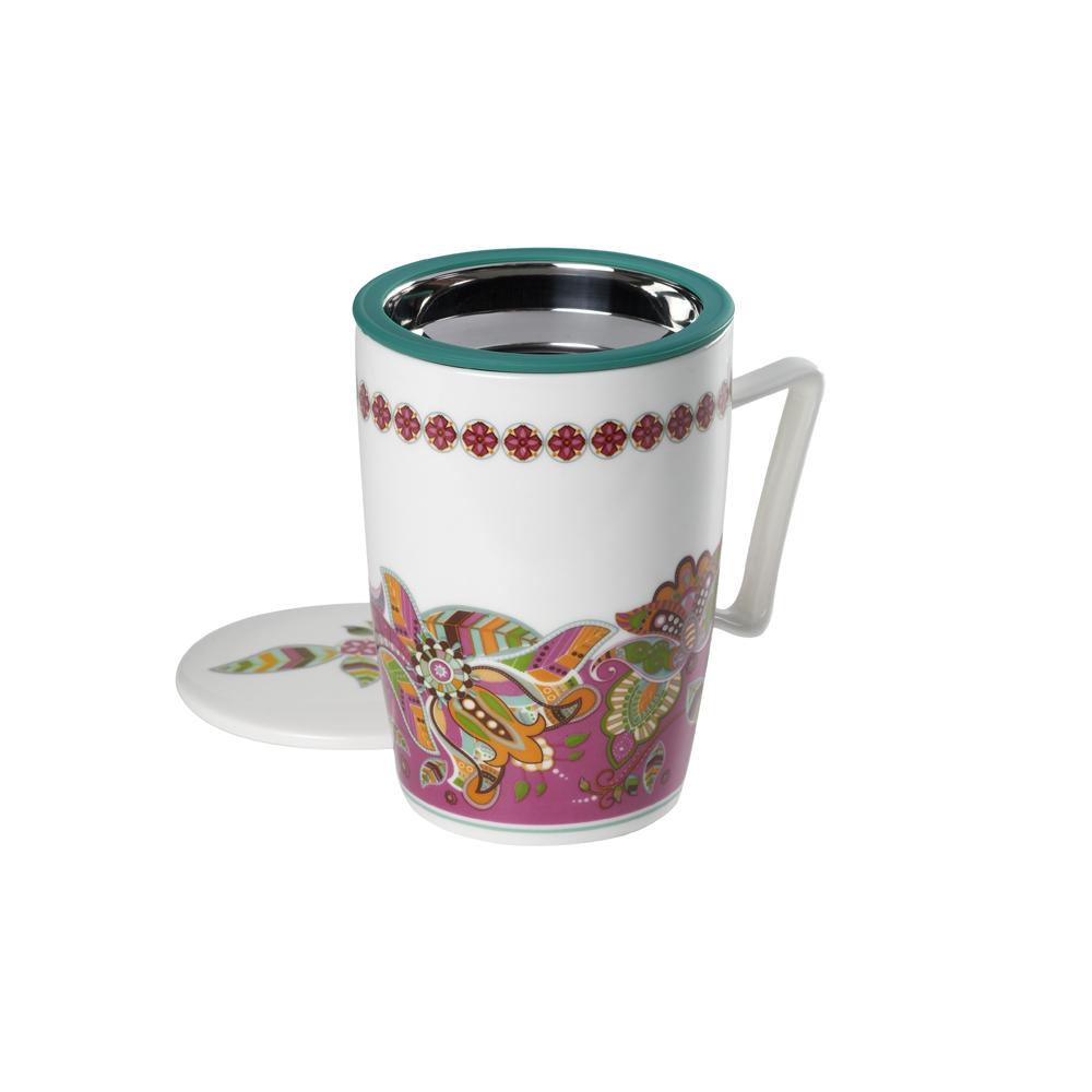 Mug Super Jumbo Ethnic .,Tazas de porcelanaTea Shop®