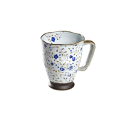 Mug Uki Keshi Azul... Porcelain Mugs. Tea Shop