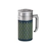 Travel Tea Mug Brooklyn Green. Thermo con filtroTea Shop®