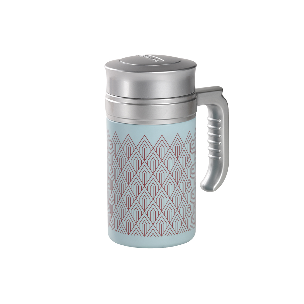 Travel Tea Mug Brooklyn Blue. Termo,Termo con filtro