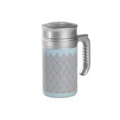 Travel Tea Mug Brooklyn Blue. Tazza termica. Thermo con filtroTea Shop®