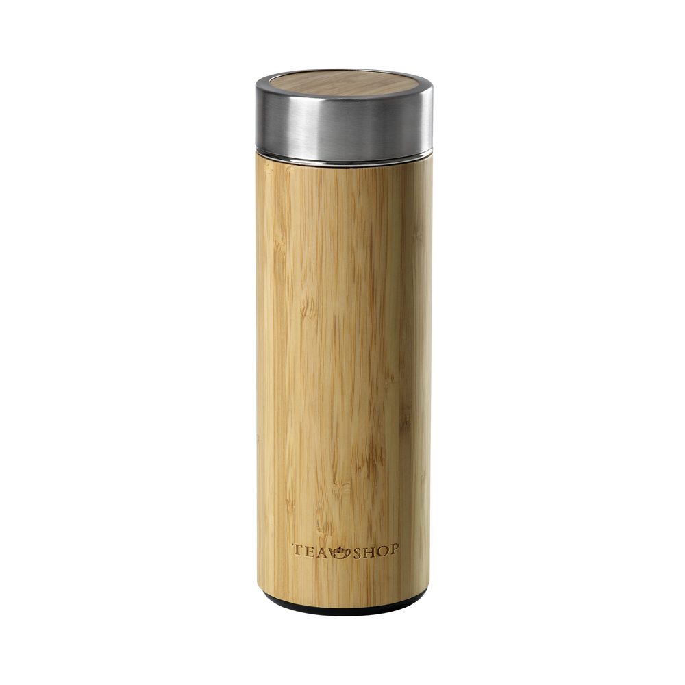 Travel Tea Bambu. Thermo con filtro Tea Shop®