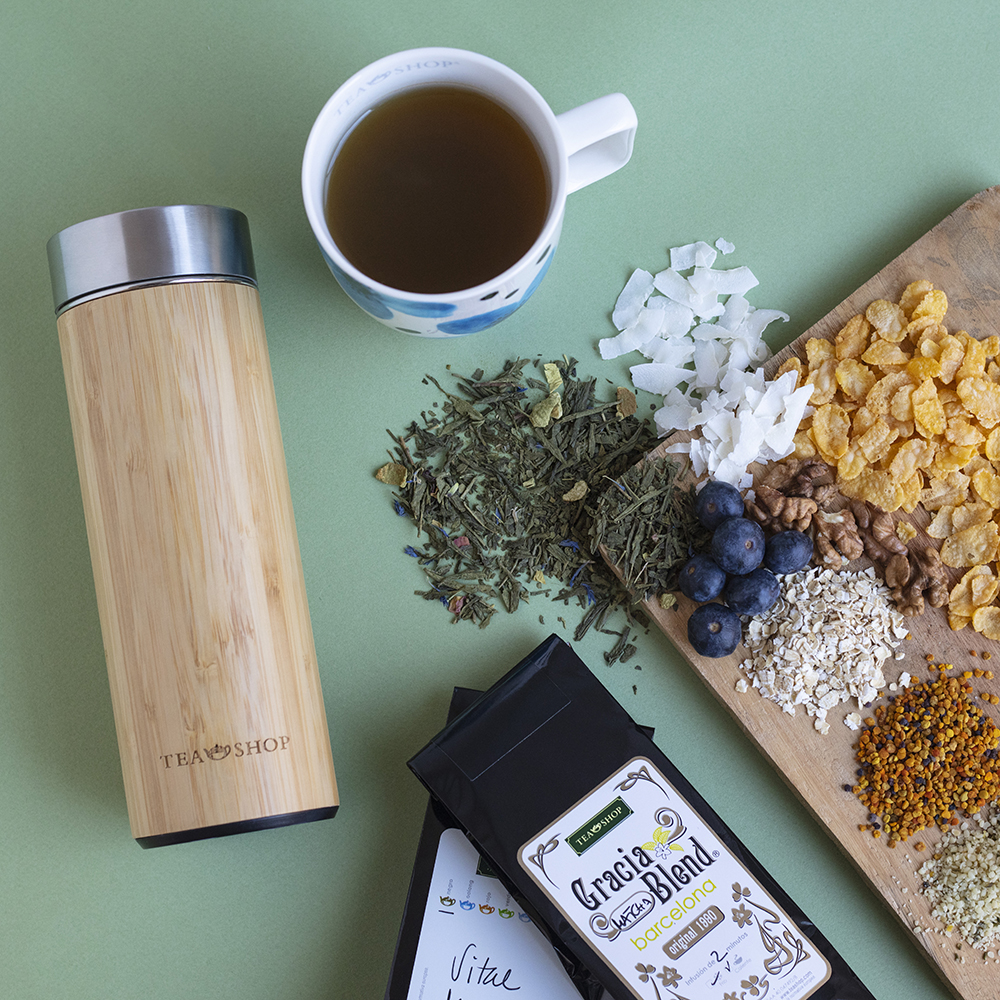 Travel Tea Bambu. Thermo con filtro Tea Shop® - Item1