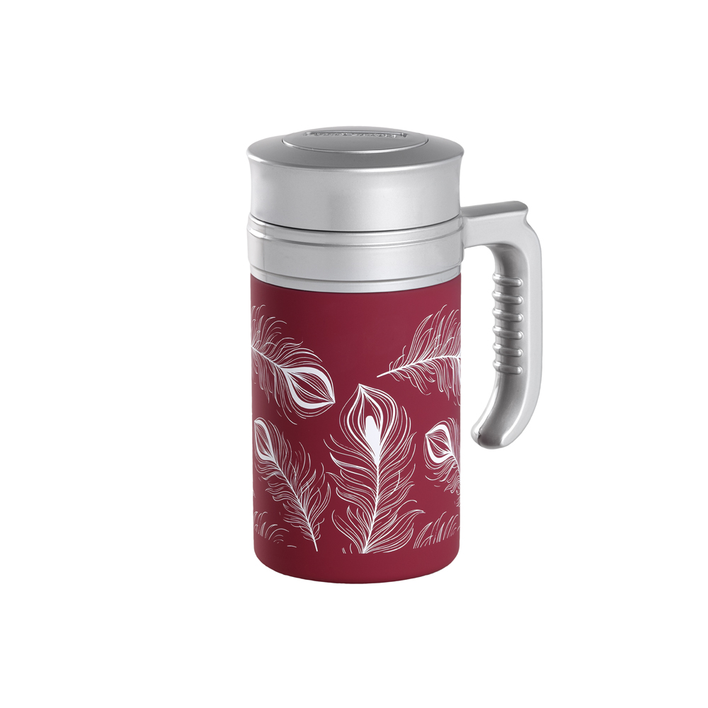 Travel Tea Turkey Burgundy. Termo. Termo sin filtroTea Shop®