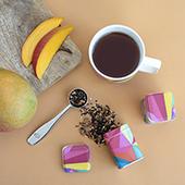 Mug Harmony Rainbow Cubist. Tazas de porcelna - Ítem3