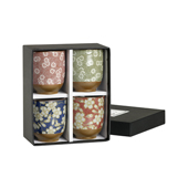 Set Vasos Florales. Tasses japoneses Tea Shop®