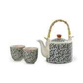 Set Jasmin Blue. Tasses japoneses Tea Shop®