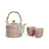 Set Jasmin Pink. Tasses japoneses Tea Shop®