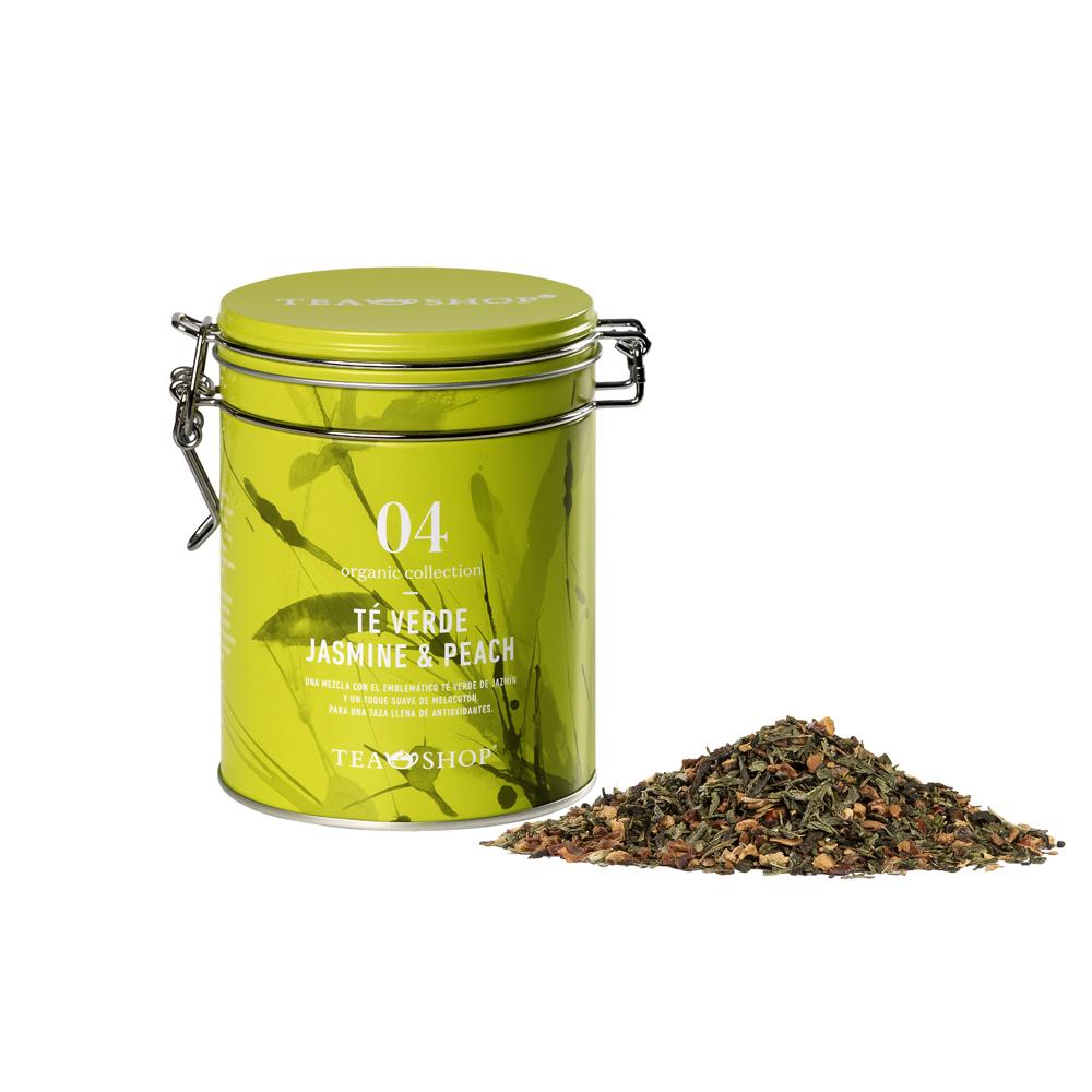 Té Verde Jasmine & Peach .Tea Collections,Organic collectionTea Shop®