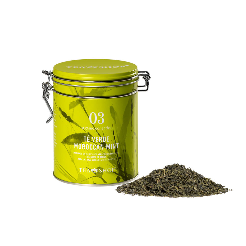 Té Verde Moroccan Mint.. Tea Collections. Organic collectionTea Shop®