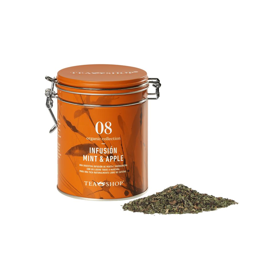 Infusión Mint & Apple.Tea Collections,Organic collectionTea Shop®