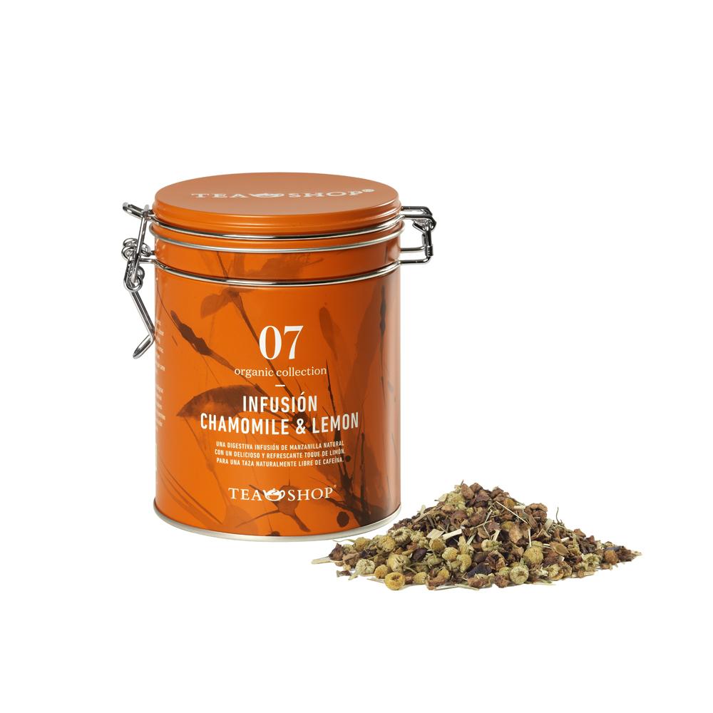 Organic Infusión Chamomile & Lemon 75g
