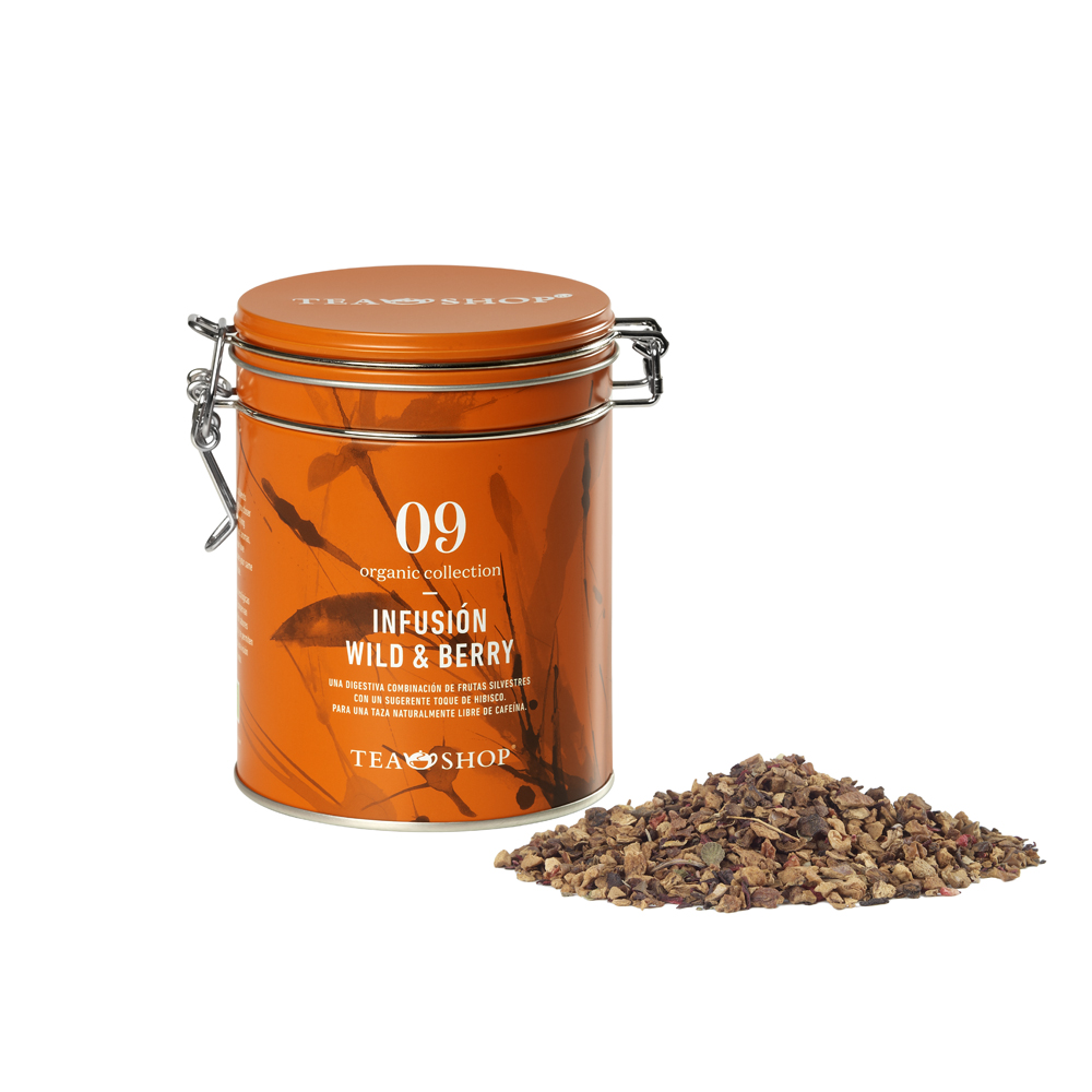 Infusión Wild & berry.Tea Collections,Organic collectionTea Shop®