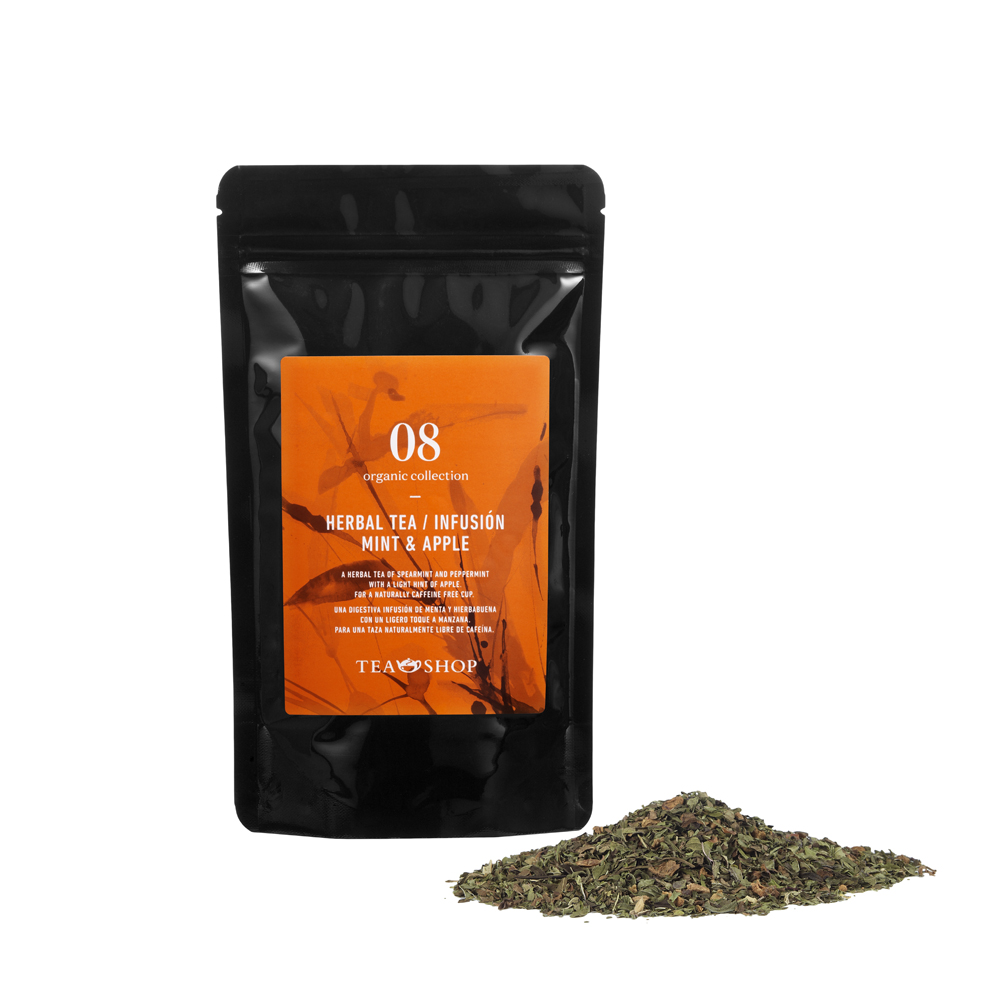 Organic Infusión Mint & Apple 100g