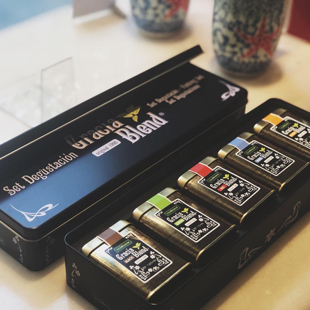 Set Degustación Gracia Blend. Tea Collections, Essentials Tea Shop® - Item2