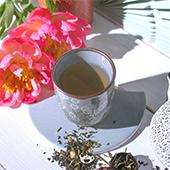 Set Vasos Florales. Porcelain Japanese Mugs Tea Shop® - Item2