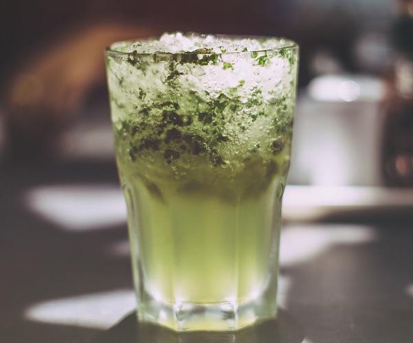 Mojito con té verde