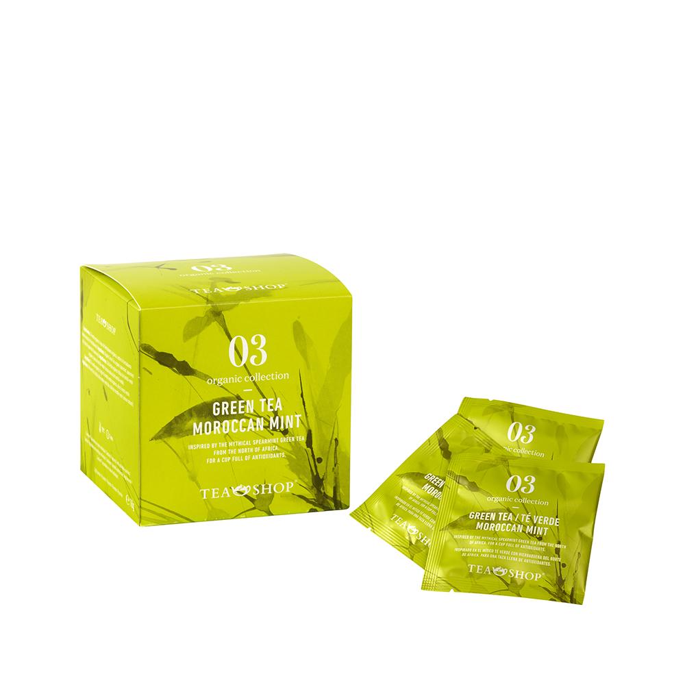 Té Verde Moroccan Mint.Tea Collections,Organic collectionTea Shop® - Ítem1