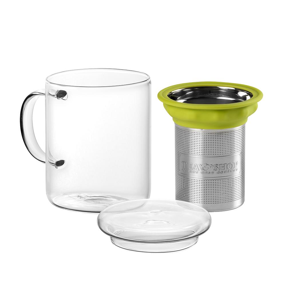All In One Mug Green.. . Canecas em vidroTea Shop®
