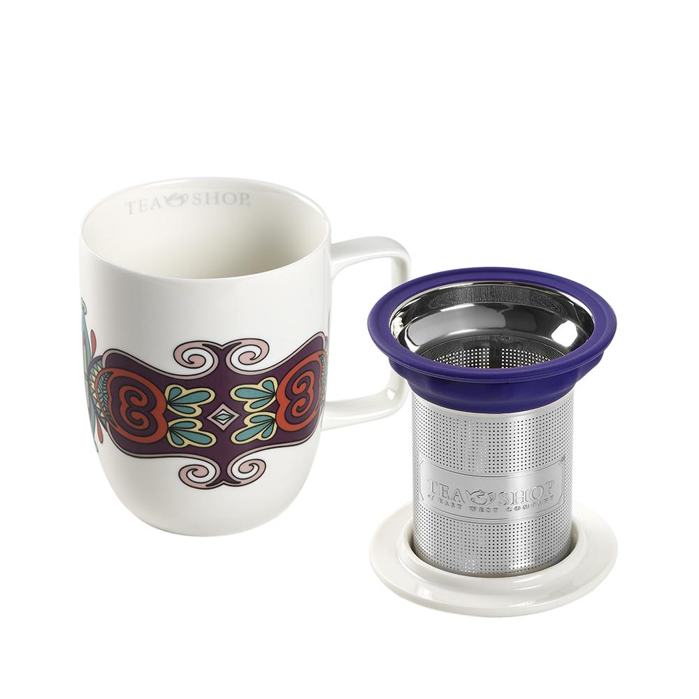 Mug Harmony Jaipur. Porcelain MugsTea Shop®