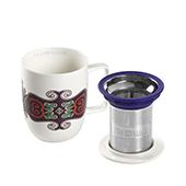 Mug Harmony Jaipur. Porcelain MugsTea Shop® - Item