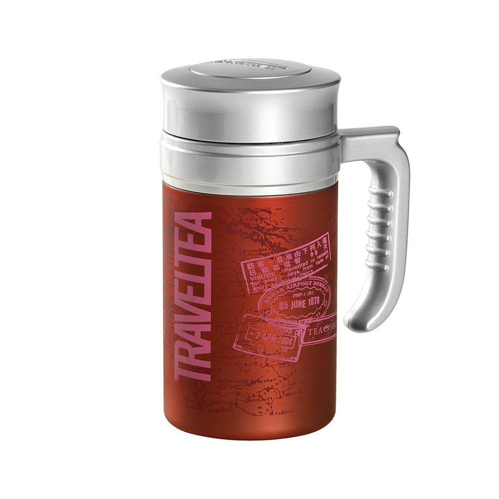 Travel Tea Passport Magenta. Termo sin filtro Tea Shop®