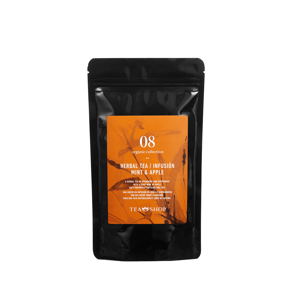 Organic Infusión Mint & Apple 100g - Ítem1