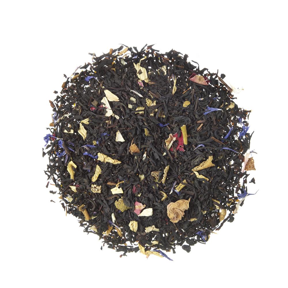 Black Gracia Blend®_ Black tea. Loose teas. Teas, rooibos teas and herbal teas, Energising, Diabetics, People with Coeliac Disease, People Intolerant to Nuts, People Intolerant to Lactose, People Intolerant to Soya and Soya Products, Vegetarians, Children, Pregnant Women, Sweet, Sweet,Tea Shop®