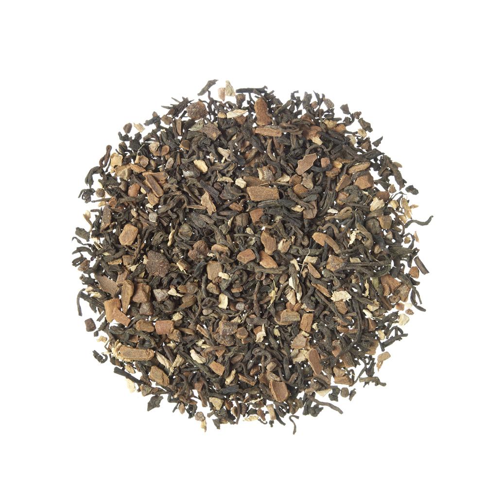 Pu Erh Chai_Te rojo (Pu Erh). Tes a granel. Tes, rooibos y infusiones, Detox, Diabèticos, Celíacos, Intolerantes a Frutos secos, Intolerante a la lactosa, Intolerante a la soja y derivados, Veganos, Niños, Especiado, Especiado,Tea Shop®