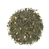 Oriental Lime_ Green tea. Loose teas. Teas, rooibos teas and herbal teas, Antioxidant, Diabetics, People with Coeliac Disease, People Intolerant to Nuts, People Intolerant to Lactose, People Intolerant to Soya and Soya Products, Vegetarians, Children, Pregnant Women, Citrus, Citrus,Tea Shop®
