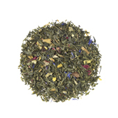 Green Gracia Blend®_ Green tea. Loose teas. Teas, rooibos teas and herbal teas, Antioxidant, Diabetics, People with Coeliac Disease, People Intolerant to Nuts, People Intolerant to Lactose, People Intolerant to Soya and Soya Products, Vegetarians, Children, Pregnant Women, Sweet, Sweet,Tea Shop®