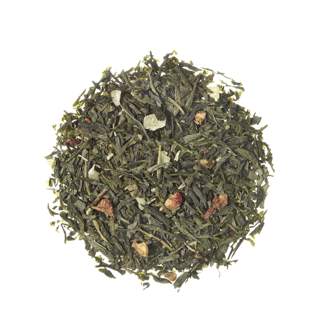 Fresh Colada_ Green tea. Loose teas. Teas, rooibos teas and herbal teas, Antioxidant, Diabetics, People with Coeliac Disease, People Intolerant to Nuts, People Intolerant to Lactose, People Intolerant to Soya and Soya Products, Vegetarians, Children, Pregnant Women, Fruity, Fruity,Tea Shop®