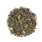 Blueberry Muffin_ Green tea. Loose teas. Teas, rooibos teas and herbal teas, Antioxidant, Diabetics, People with Coeliac Disease, People Intolerant to Nuts, People Intolerant to Lactose, People Intolerant to Soya and Soya Products, Vegetarians, Children, Pregnant Women, , Tea Shop®