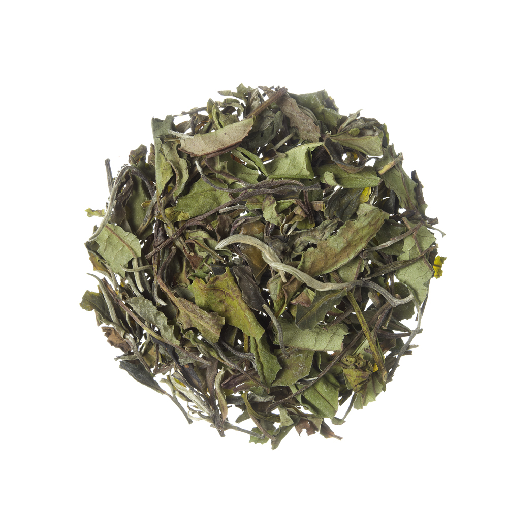 Pai Mu Tan_ White tea. Loose teas. Teas, rooibos teas and herbal teas, Antioxidant, China, Diabetics, People with Coeliac Disease, People Intolerant to Nuts, People Intolerant to Lactose, People Intolerant to Soya and Soya Products, Vegetarians, Children, Pregnant Women, Herby,Floral, Herby,Floral,Tea Shop®