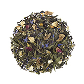 Summer Nights_ Green tea. Loose teas. Teas, rooibos teas and herbal teas, Antioxidant, Diabetics, People with Coeliac Disease, People Intolerant to Nuts, People Intolerant to Lactose, People Intolerant to Soya and Soya Products, Vegetarians, Children, Pregnant Women, Citrus, Citrus,Tea Shop®