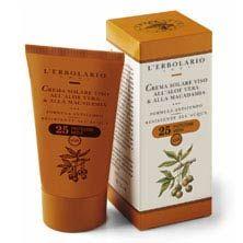 L'ERBOLARIO Crema Solar Cara al Aloe Vera y Macadamia