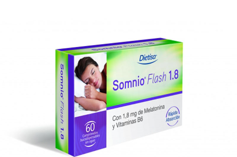 Dietisa SOMNIO FLASH. 60 comprimidos