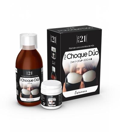 Plameca Plan H choque + stevia 2 en 1