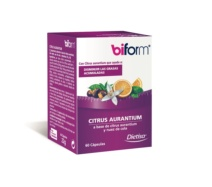 biform citrus aurantium quemagrasas 60 cápsulas