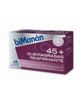 biManan 45 QUEMAGRASA REAFIRMANTE 48 comprimidos