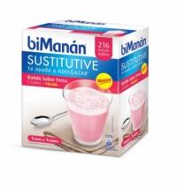 biManán BATIDO FRESA 6 Sobres