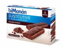 biManán BARRITA CHOCOLATE FONDANT 8 Unidades
