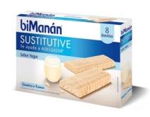 biManán BARRITA Yogur 8 unidades