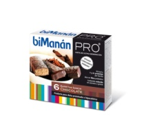 biManán PRO BARRITAS DE CHOCOLATE 6 Uds.